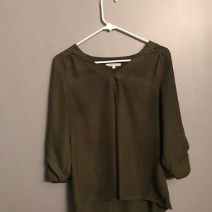 Hawthorn green blouse